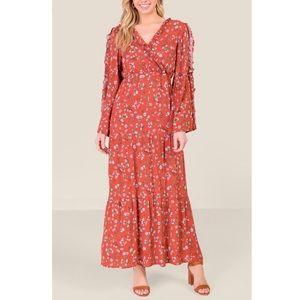 Bell Sleeve Maxi Dress ♥️